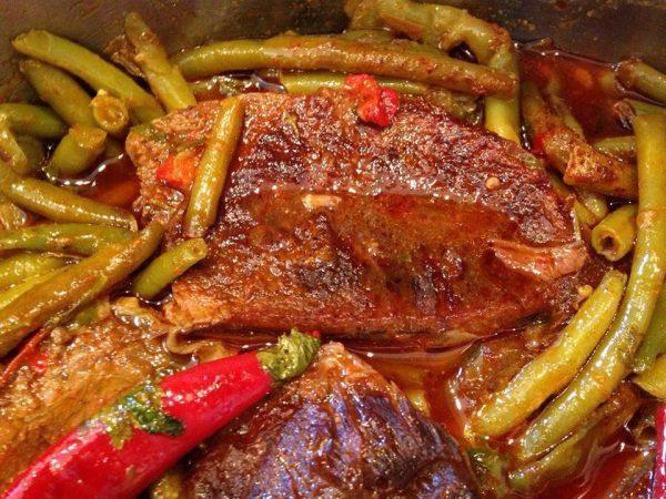 תבשיל צלי בשר עם שעועית ירוקה_עופרה מרציאנו