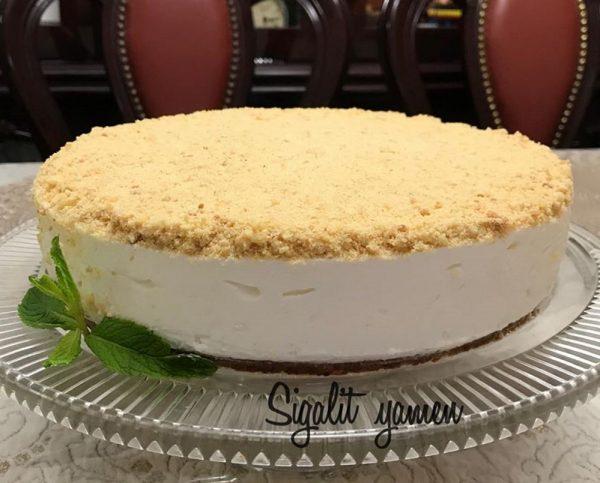 עוגת גבינה בצק פריך פירורים_סיגלית ימין