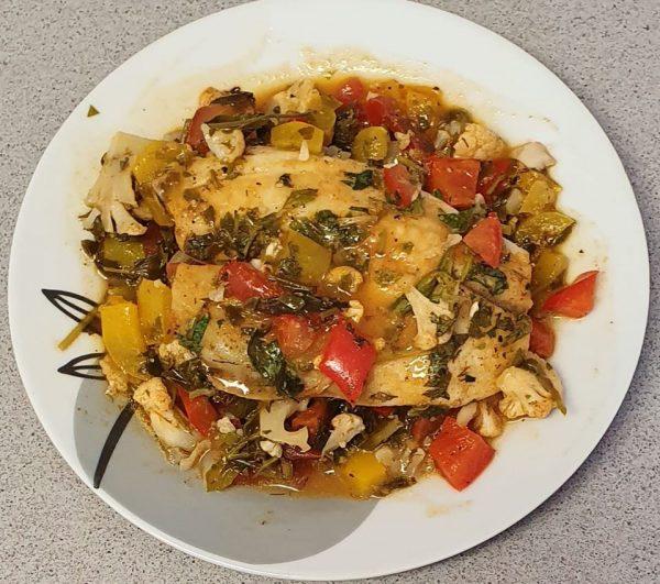 דגים ירקות וירק בתנור_יפה וקס-ברקו