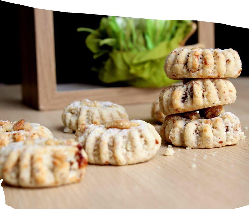 עוגיות אגוזים במילויים שונים_מתכון של הילה סמוכה רשתי