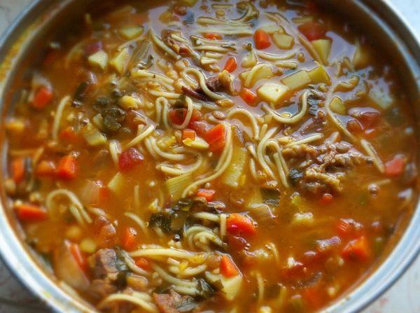 מתכון כתוב + סרטון  המחשה להכנת מרק חרירה_זהבה אבילחק