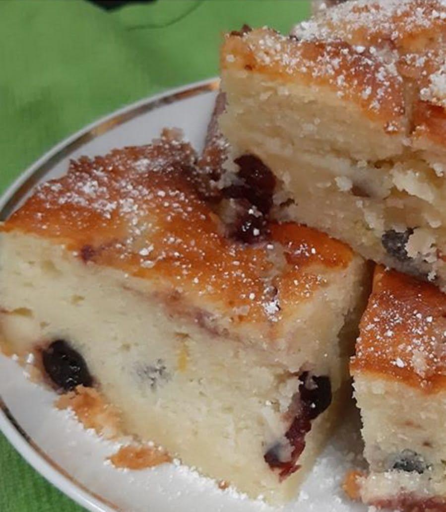 עוגת גבינה בחושה עם חמוציות של בתיה דורון_גילה כהן אבני