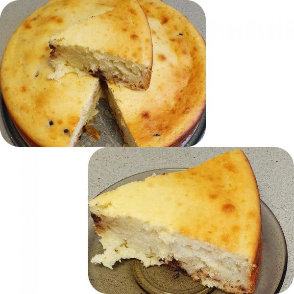 עוגת גבינה עם שוקולד ציפס_יפה וקס-ברקו