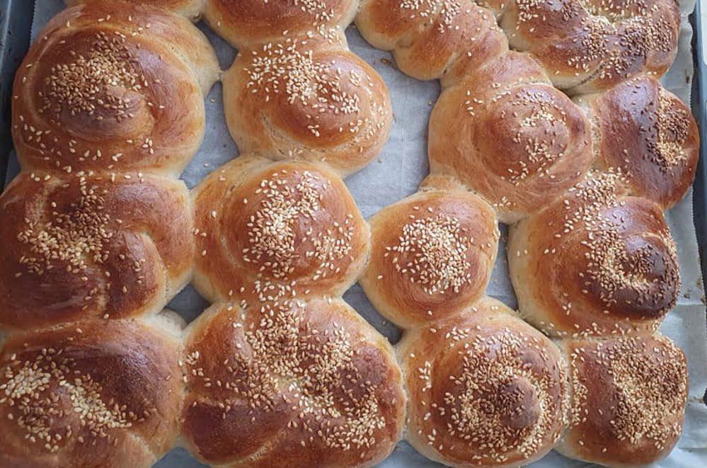 לחם בית / לחמניות / חלות 🤤_מתכון של מילן וקנין