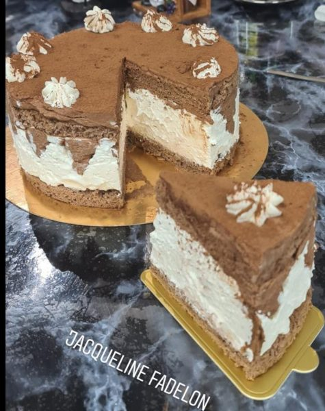 מתכון כתוב + סרטון להכנת עוגת טירמיסו בסגנון יפני _מתכון של  זקלין פדלון