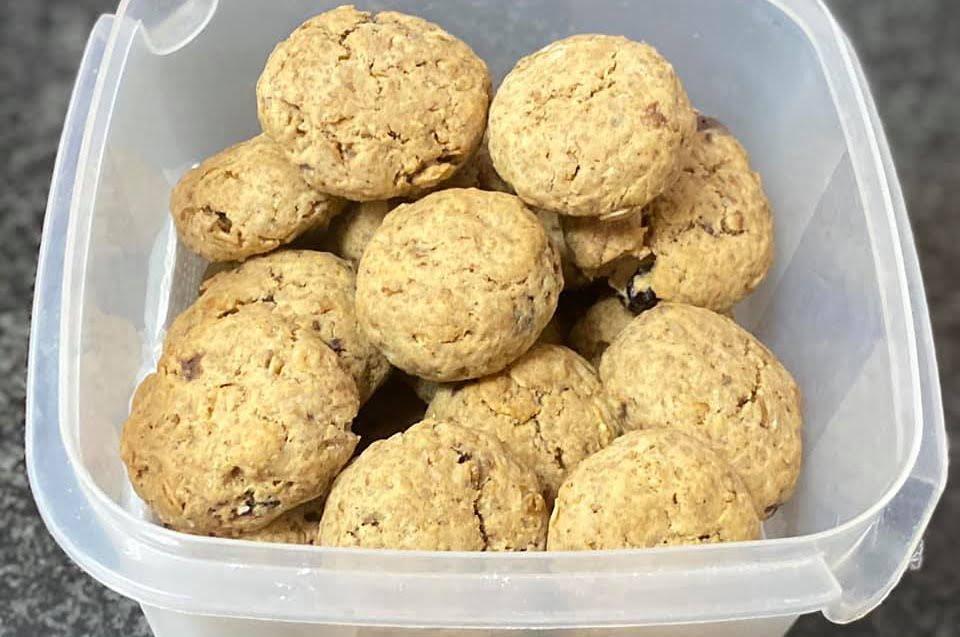 עוגיות גרנולה טעימות_מתכון של מרי שקד שירזי