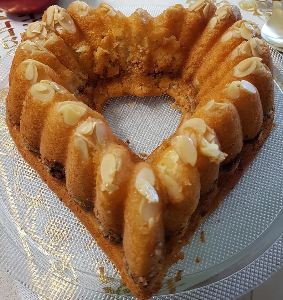 עוגת אגוזים וקינמון_מתכון של נורית יונה