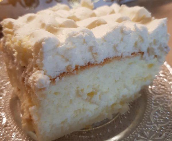 עוגת גבינה אפויה עם מייפל וקצפת🌷💕❤_מתכון של נורית יונה