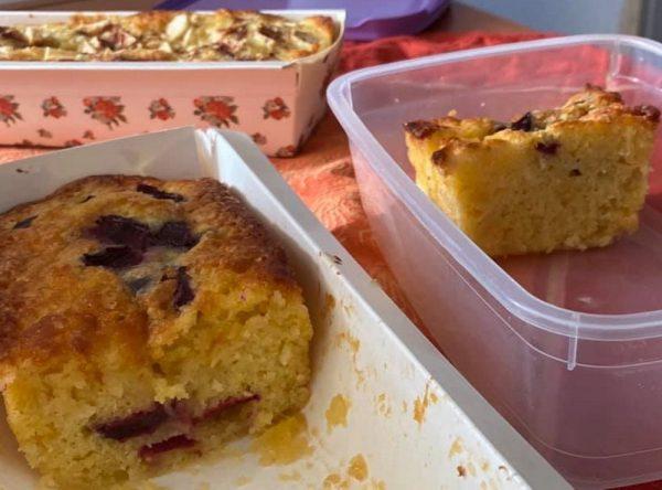 עוגה בחושה נהדרת, שניתן להוסיף לה כל מה שאוהבים_מתכון של מרי שקד שירזי