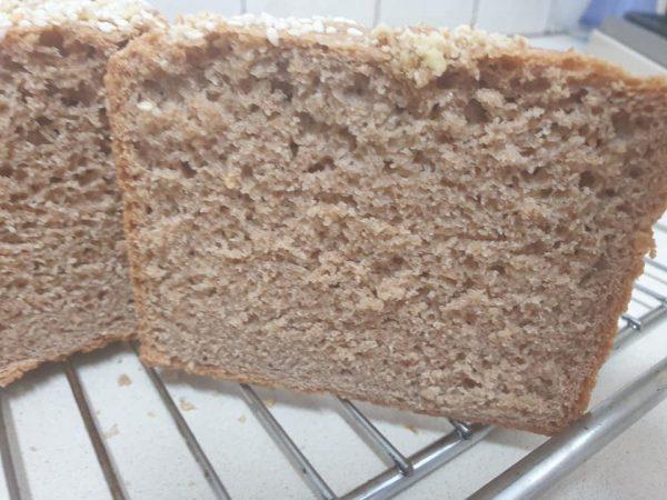 מתכון כתוב + סרטון להכנת לחם כוסמין מלא_מתכון של  ירדנה ג'נאח