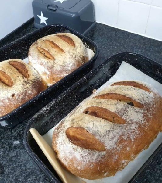 מתכון כתוב + סרטון להכנת לחם לחם קלמטה ואורגנו טרי / קימל ללא קימל_מתכון של תילי טובה