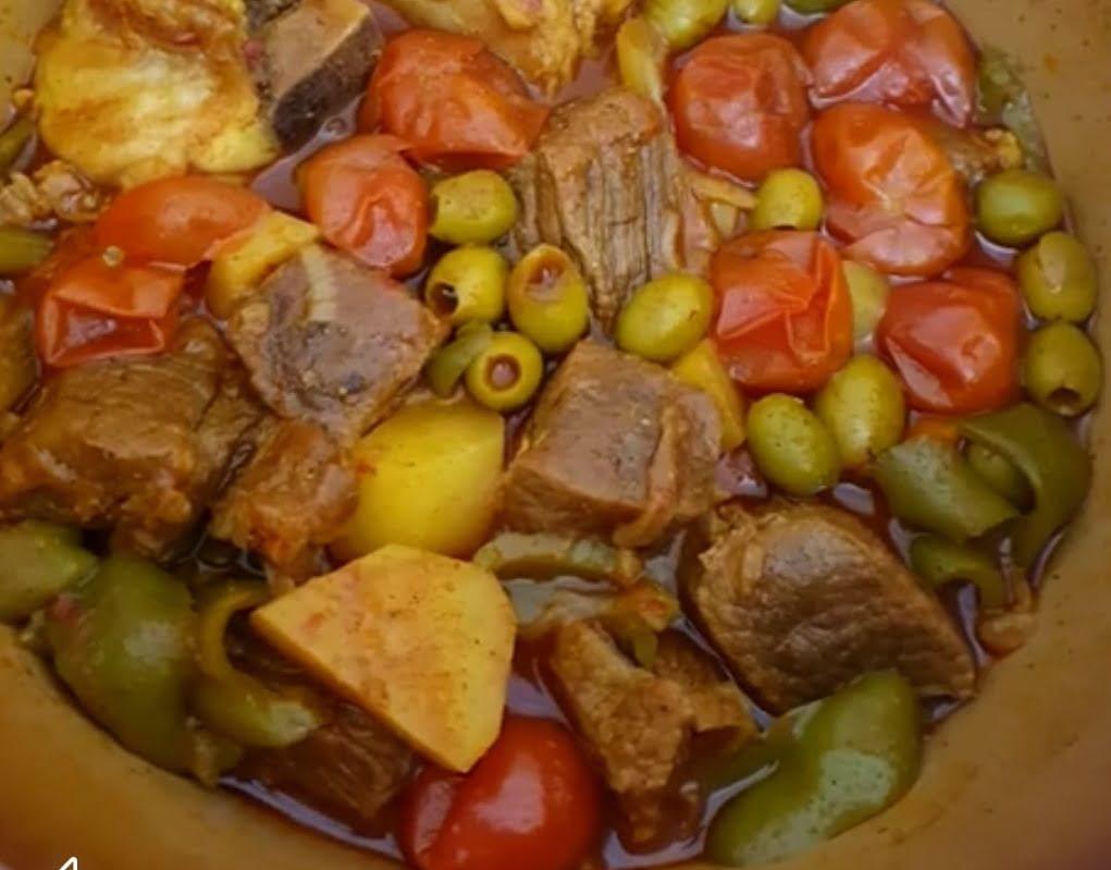 מתכון כתוב + סרטון המחשה להכנת תבשיל עם בשר חזה עם עצם 🤤_מתכון של מילן וקנין