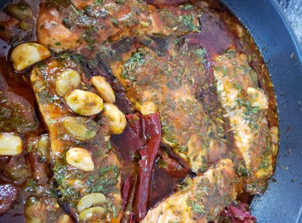 דג מרוקאי עם סלמון_מתכון של לאה בוארון