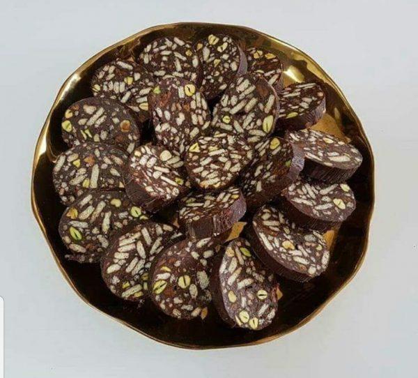 נקניק שוקולד משודרג_מתכון של תילי טובה