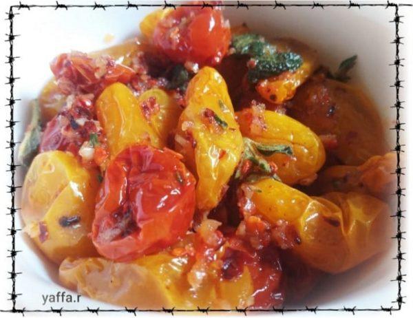 עגבניות שרי מיובשות_מתכון של המטבח של יפה רייפלר מתכונים