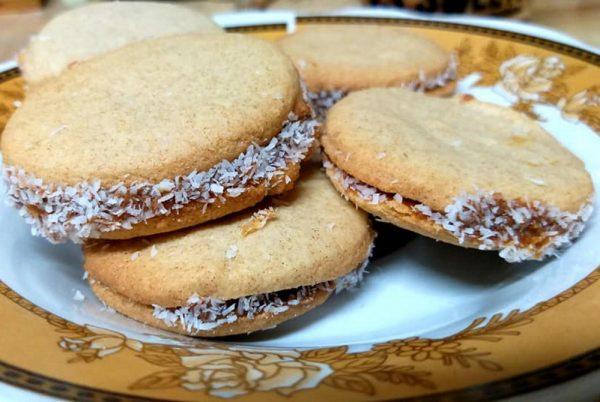 עוגיות אלפחורס מקמח מלא_מתכון של רוחמה כהן