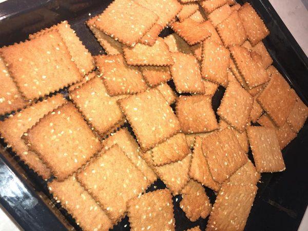 עוגיות מרוקאיות ( רייפת ) מקמח כוסמין ומקמח רגיל🌺_מתכון של אילנה בוכריס