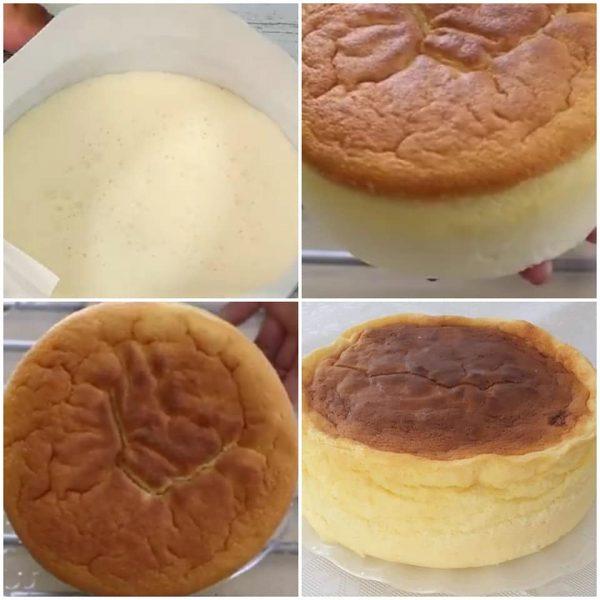עוגת גבינה גבוהה ורכה_מתכון של המטבח של תכלת