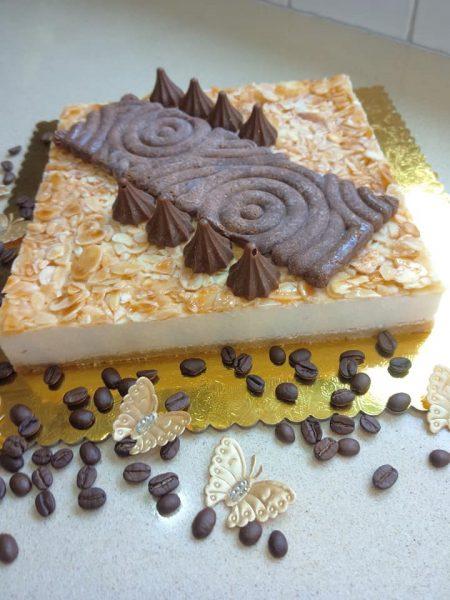 עוגת גבינה שקדים_מתכון של שלומית שחר