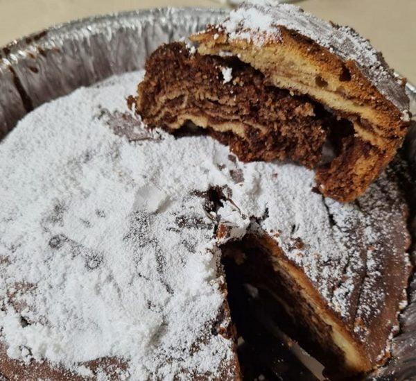 עוגת זברה …טעימה מאוד 🤤_מתכון של מילן וקנין