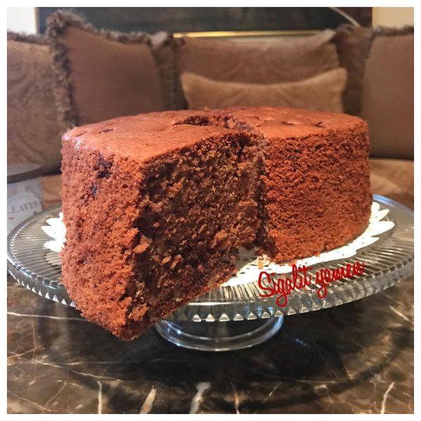 עוגת טורט שוקולד אגוזים_מתכון של סיגלית ימין