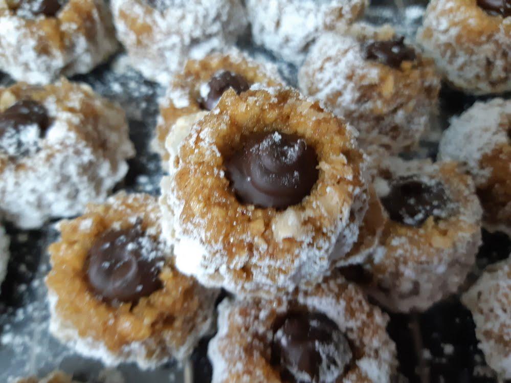 פקעות בוטנים במילוי שוקולד ללא גלוטן_מתכון של אורנה ועלני