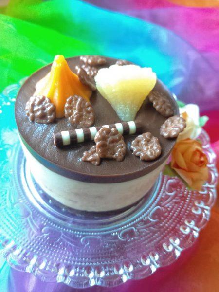 קינוח שכבות גבינה ושוקולד בלונדי_מתכון של שלומית שחר