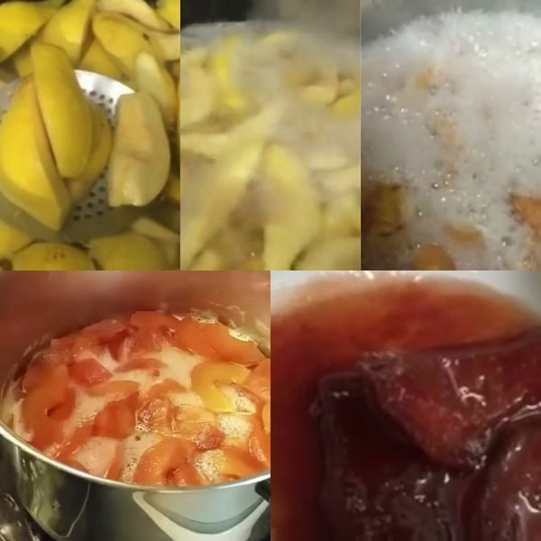 ריבת חבושים_מתכון של המטבח של תכלת