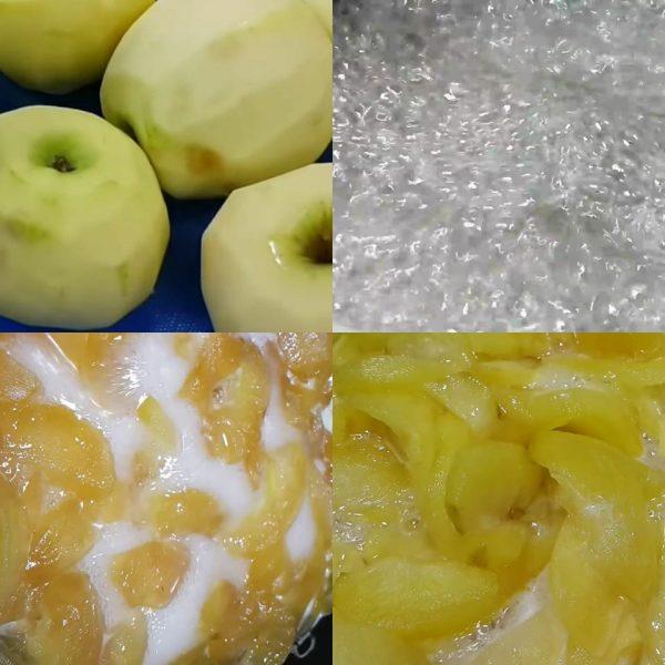 ריבת תפוחי עץ חמוצים/צהובים … מה שיש_מתכון של המטבח של תכלת