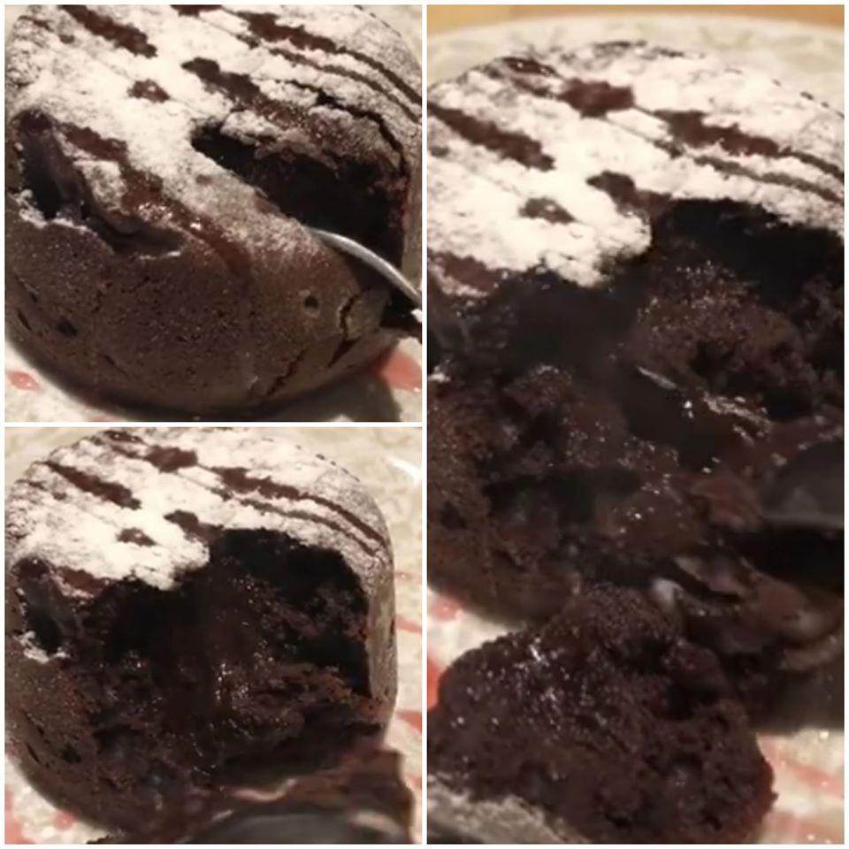 עוגת שוקולד חמה אישית_מתכון של המטבח של תכלת
