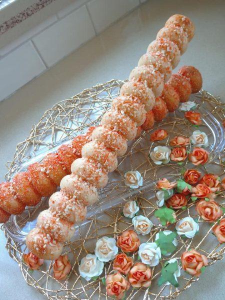 עוגת סולת קוקוס תפוזים_מתכון של שלומית שחר (מצורפת תמונת התבנית)