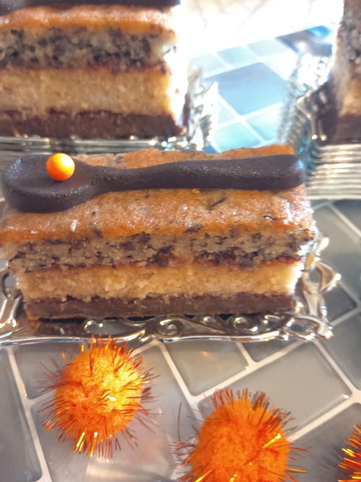 חיתוכיות שוקולד וקוקוס … תפוזים וקוקוס_מתכון של שלומית שחר