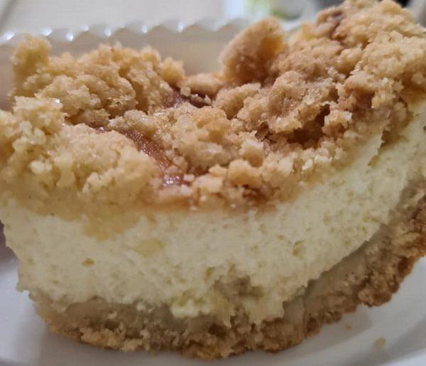 עוגת גבינה עם שטרויזל_מתכון של מילן וקנין