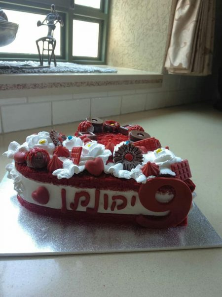 עוגת יום הולדת ליהונתן_מתכון של שלומית שחר – מאסטר מתכונים