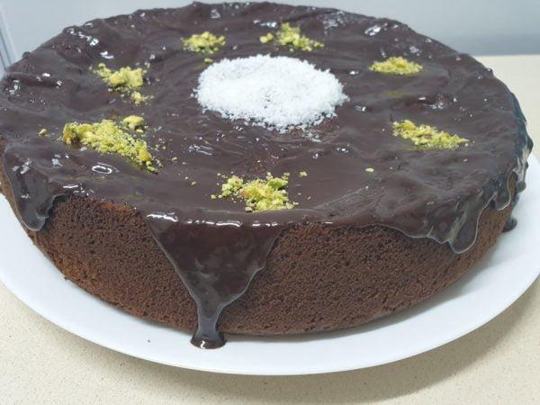 מתכון כתוב + סרטון להכנת עוגת שוקולד ומלבי_מתכון של  ירדנה ג'נאח – מאסטר מתכונים