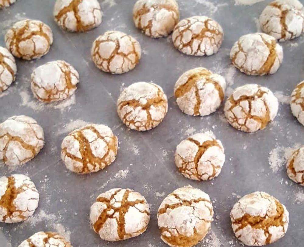 עוגיות שקדים מייפל וקינמון_מתכון של עליזה ששון