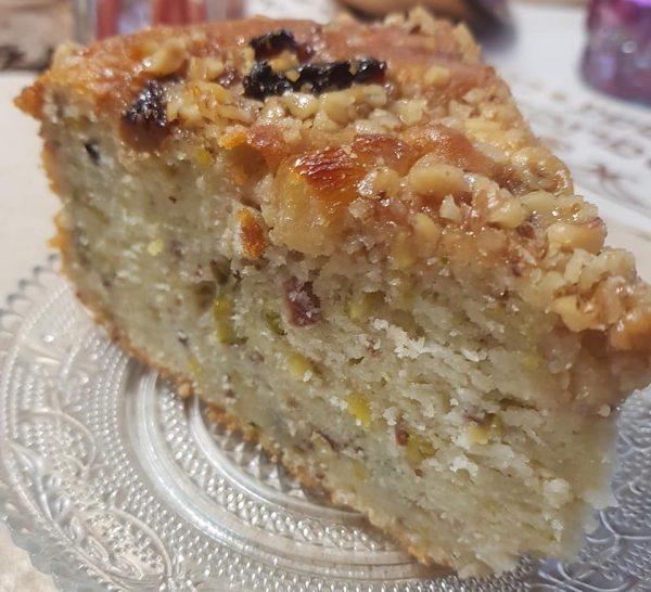 עוגת מייפל, פיסטוק ואגוזים_מתכון של נורית יונה