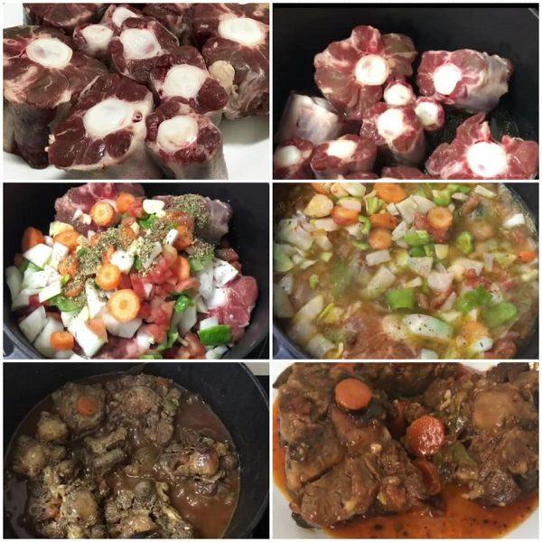 בישול קדירה זנב פרה_מתכון של המטבח של תכלת