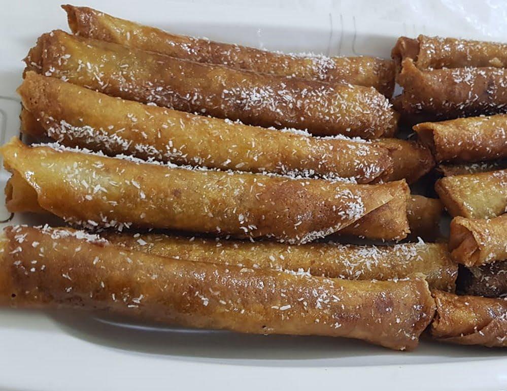 סיגרים מתוקים ממולאים באגוזים ושקדים_מתכון של טובה ניסים