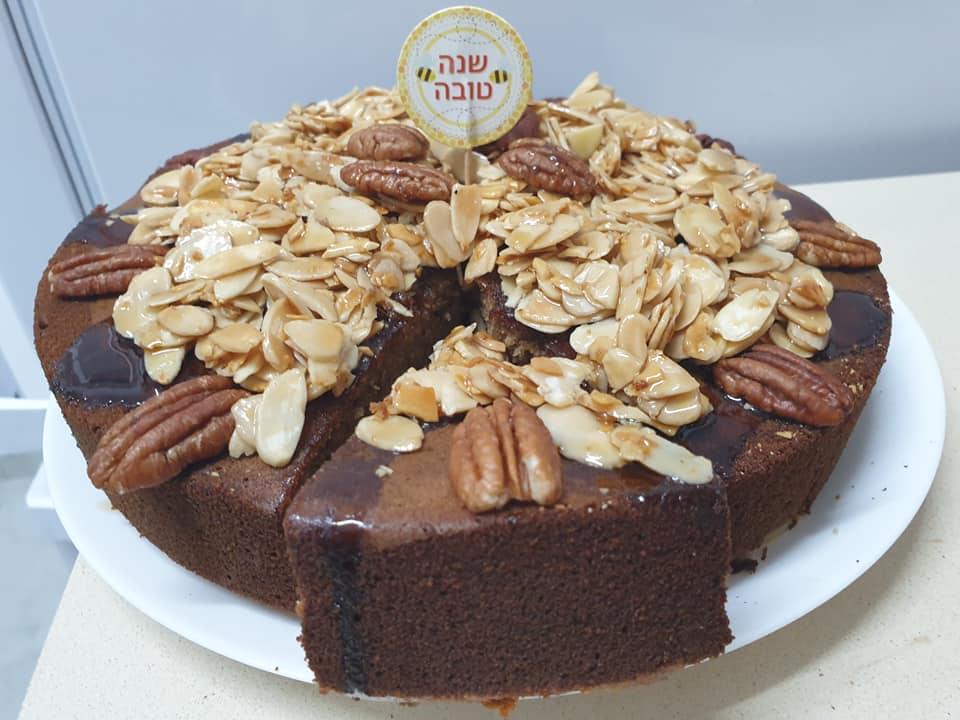 עוגת דבש סוףףףףף ❤ בחושה קלה טעימה ופרווה_מתכון של ירדנה ג'נאח