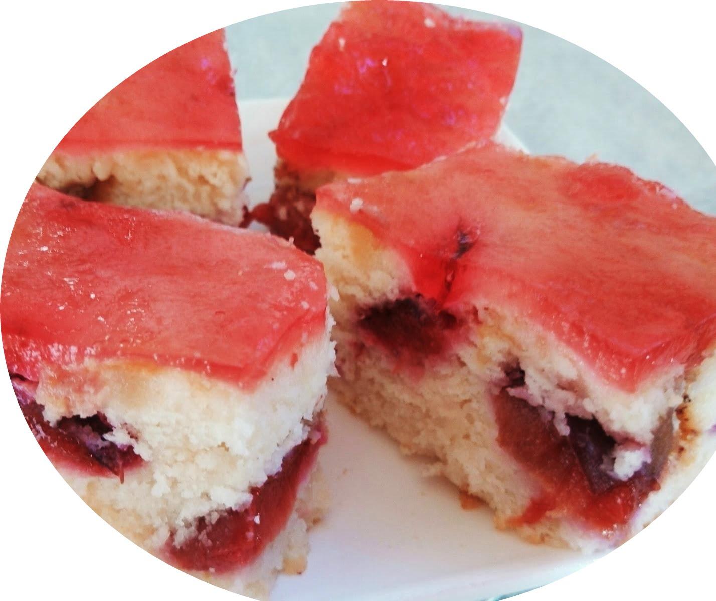 עוגת שזיפים_מתכון של אורה ארגוב
