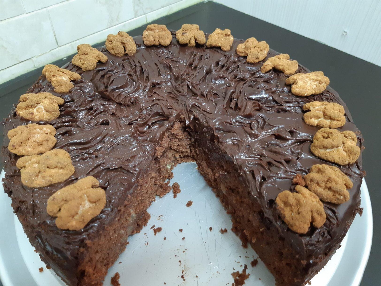 עוגת תמרים ואגוזים פרווה_מתכון של אורנה ועלני