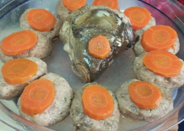 קציצות גפילטע-פיש נהדרות ממטבחה של אמא בוצי_מתכון של גילה כהן-אבני