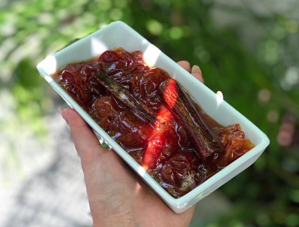 ריבת עגבניות שרי_מתכון של אילנה בוכריס