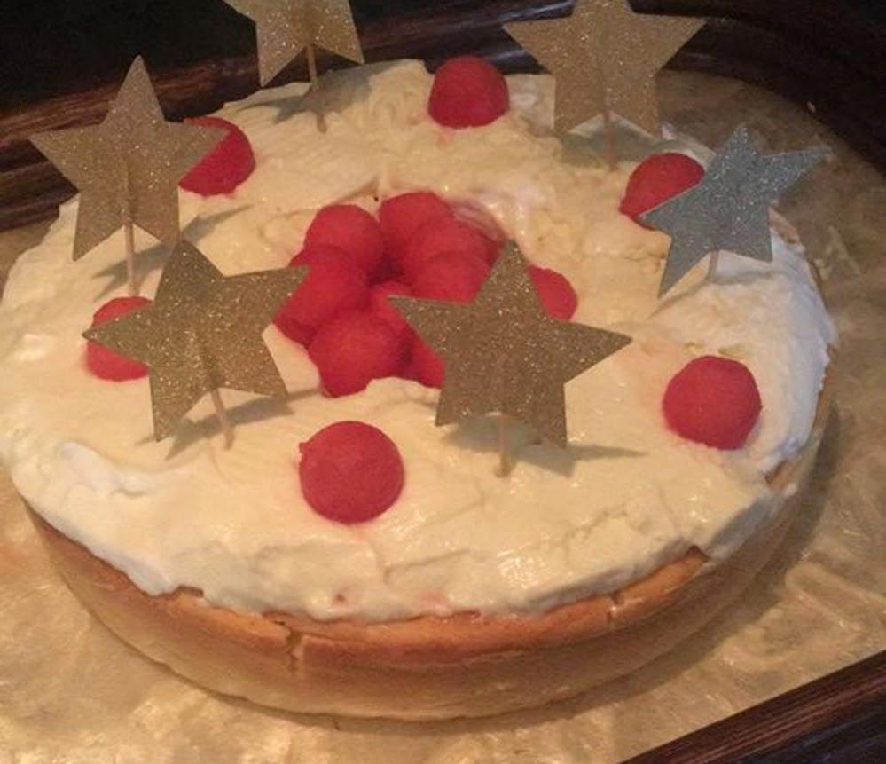 עוגת גבינה עם קרם וניל_מתכון של אורנה זוארי