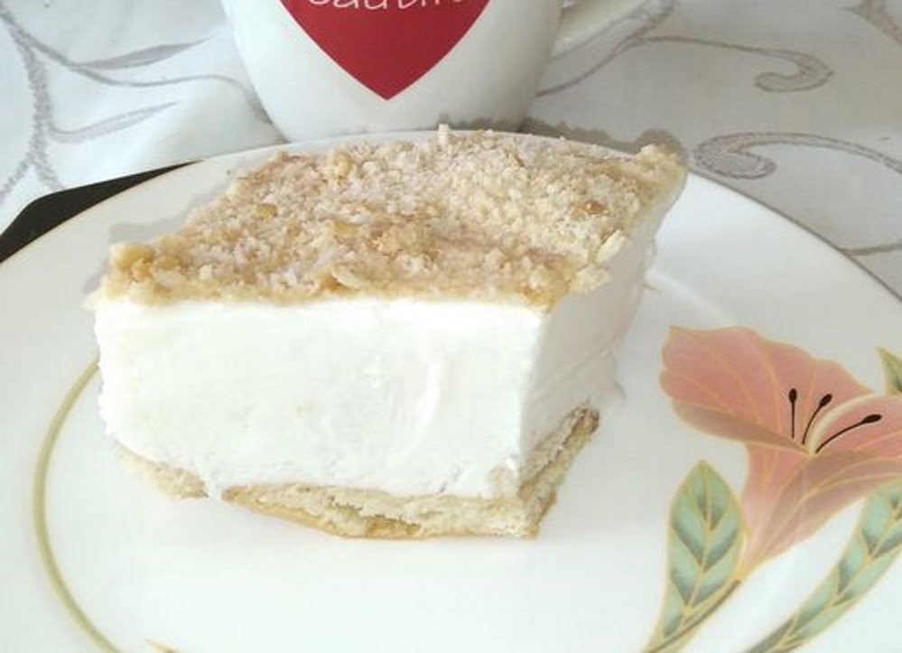 עוגת גבינה עם פירורים_מתכון של אורנה זוארי