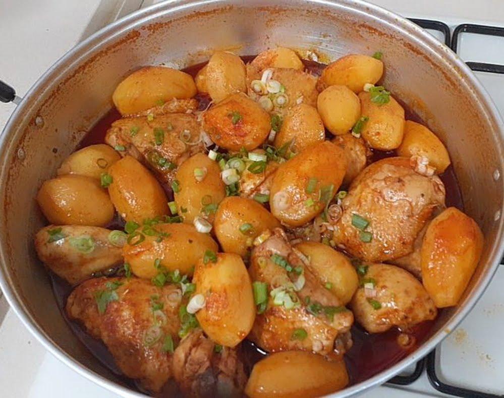 עוף עם תפוחי אדמה_מתכון של פרח בן עזרא