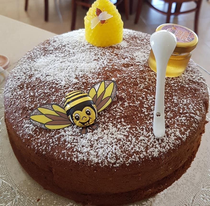 עוגת דבש_מתכון של נורית יונה