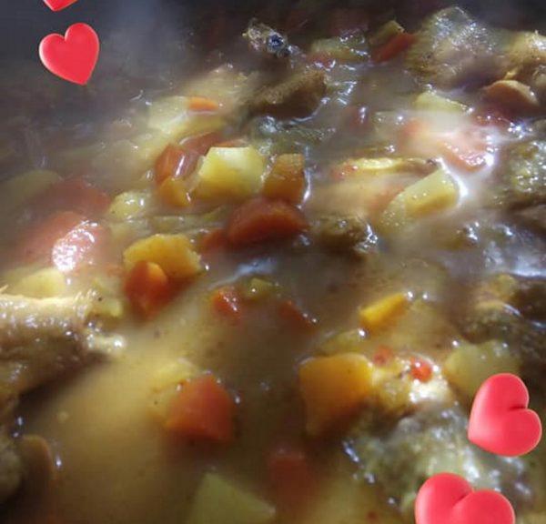 מרק עוף עם ירקות_מתכון של אורנה זוארי