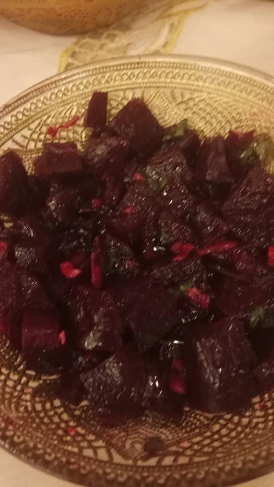 סלט סלק אדום מבושל_מתכון של אורנה זוארי